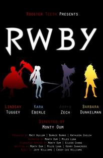 RWBY - Poster / Capa / Cartaz - Oficial 1