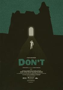 Don't - Poster / Capa / Cartaz - Oficial 2
