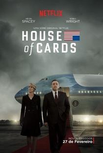House of Cards (3ª Temporada) - Poster / Capa / Cartaz - Oficial 1
