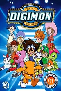 Digimon (1ª Temporada) - Poster / Capa / Cartaz - Oficial 2