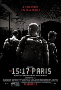 15h17 - Trem Para Paris - Poster / Capa / Cartaz - Oficial 4