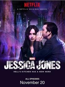 Jessica Jones (1ª Temporada) - Poster / Capa / Cartaz - Oficial 3