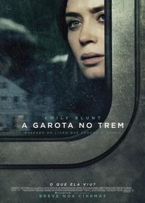 A Garota no Trem - Poster / Capa / Cartaz - Oficial 4