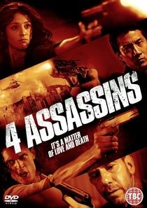 Quatro Assassinos - Poster / Capa / Cartaz - Oficial 2