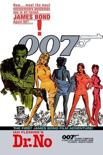 007 - Contra o Satânico Dr. No - Poster / Capa / Cartaz - Oficial 5