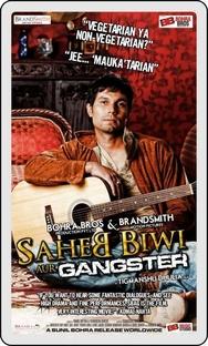 Saheb Biwi Aur Gangster - Poster / Capa / Cartaz - Oficial 3