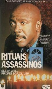Rituais Assassinos - Poster / Capa / Cartaz - Oficial 1