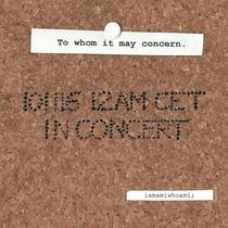 In Concert - Poster / Capa / Cartaz - Oficial 1