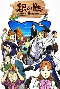 Gin no Saji (2ª Temporada) - Poster / Capa / Cartaz - Oficial 6