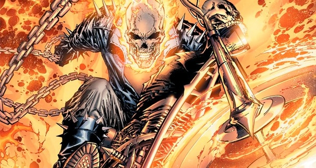 Veja primeira imagem de Motoqueiro Fantasma em Agents of Shield