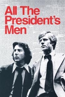 Todos os Homens do Presidente - Poster / Capa / Cartaz - Oficial 1