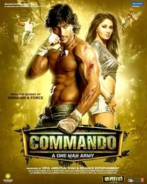 Commando - Poster / Capa / Cartaz - Oficial 1