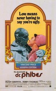 O Abominável Dr. Phibes - Poster / Capa / Cartaz - Oficial 2