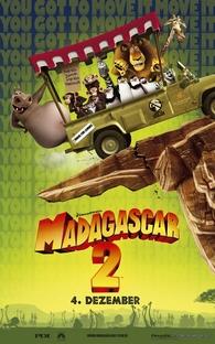 Madagascar 2: A Grande Escapada - Poster / Capa / Cartaz - Oficial 1