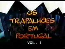 Os Trapalhões em Portugal - Poster / Capa / Cartaz - Oficial 1