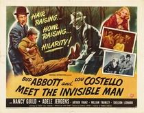 Abbott e Costello e o Homem Invisível - Poster / Capa / Cartaz - Oficial 3