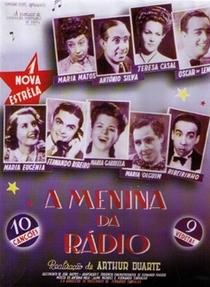 A Menina da Rádio - Poster / Capa / Cartaz - Oficial 1