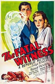 Testemunha Fatal - Poster / Capa / Cartaz - Oficial 1