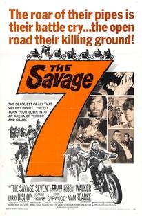 The Savage Seven - Poster / Capa / Cartaz - Oficial 1