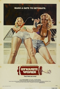 The Great Texas Dynamite Chase - Poster / Capa / Cartaz - Oficial 5