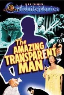 O Incrível Homem Transparente - Poster / Capa / Cartaz - Oficial 2