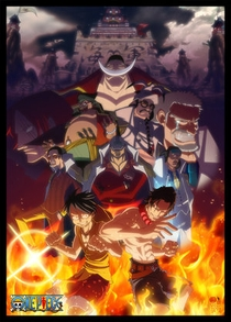 One Piece: Saga 8 - Marineford - Poster / Capa / Cartaz - Oficial 1