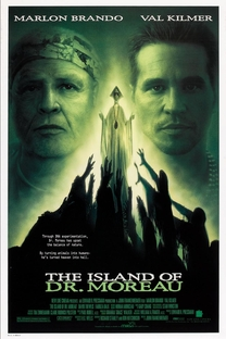 A Ilha do Dr. Moreau - Poster / Capa / Cartaz - Oficial 1