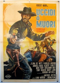 Uma Bala para Ringo - Poster / Capa / Cartaz - Oficial 1