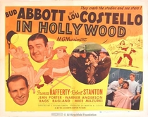 Bud Abbott & Lou Costello em Hollywood - Poster / Capa / Cartaz - Oficial 1