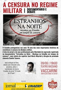 Estranhos na Noite - Mordaça no Estadão em Tempos de Censura - Poster / Capa / Cartaz - Oficial 2