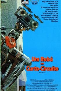 Um Robô em Curto Circuito 2 - Poster / Capa / Cartaz - Oficial 3