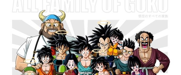 As Famílias de Dragon Ball