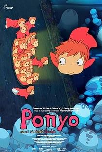 Ponyo: Uma Amizade que Veio do Mar - Poster / Capa / Cartaz - Oficial 48