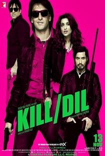 Kill Dil - Poster / Capa / Cartaz - Oficial 1