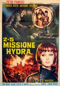 Os Monstros do Planeta Hidra - Poster / Capa / Cartaz - Oficial 2