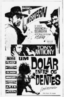 Um Dólar entre os Dentes - Poster / Capa / Cartaz - Oficial 2
