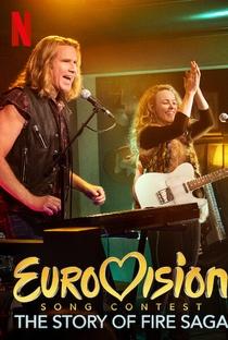 Festival Eurovision da Canção: A Saga de Sigrit e Lars - Poster / Capa / Cartaz - Oficial 2