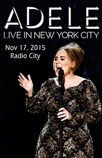 Adele - Live In New York - Poster / Capa / Cartaz - Oficial 2