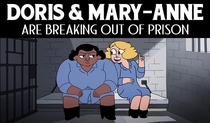 Doris & Mary-Anne Are Breaking Out Of Prison - Poster / Capa / Cartaz - Oficial 1