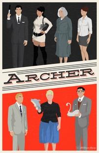 Archer (1ª Temporada) - Poster / Capa / Cartaz - Oficial 2