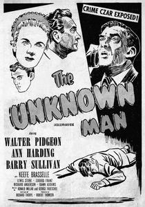 O Homem Desconhecido - Poster / Capa / Cartaz - Oficial 1