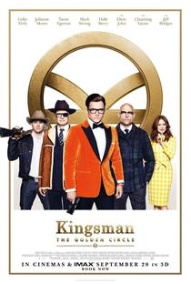 Kingsman: O Círculo Dourado - Poster / Capa / Cartaz - Oficial 3