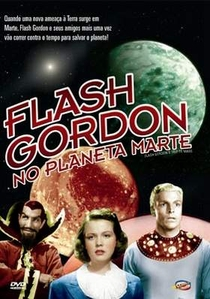 Flash Gordon no Planeta Marte - Poster / Capa / Cartaz - Oficial 1