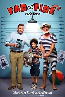 Far til fire's vilde ferie - Poster / Capa / Cartaz - Oficial 1