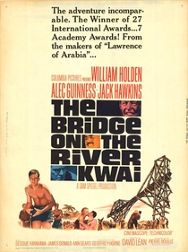 A Ponte do Rio Kwai - Poster / Capa / Cartaz - Oficial 5
