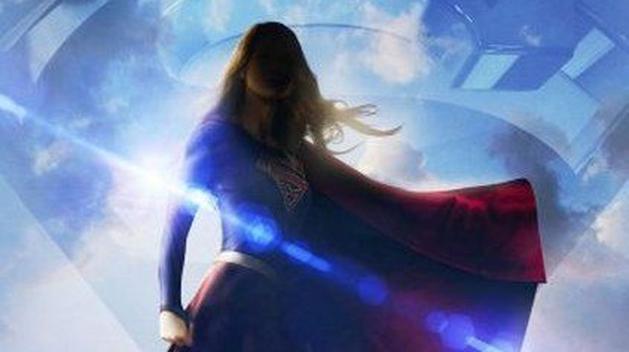 Supergirl: heroína voa em nova arte promocional da série