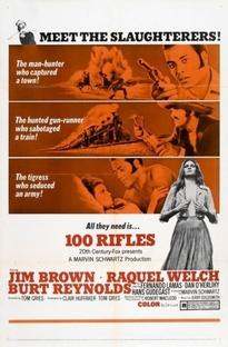 100 rifles - Poster / Capa / Cartaz - Oficial 2