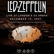 Led Zeppelin Live at London's  02 Arena December 10, 2007 - Poster / Capa / Cartaz - Oficial 1
