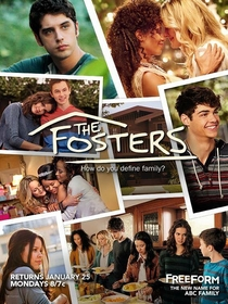 The Fosters (3ª Temporada) - Poster / Capa / Cartaz - Oficial 1