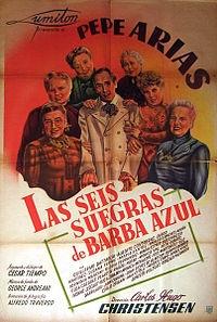 Las Seis Suegras de Barba Azul - Poster / Capa / Cartaz - Oficial 1